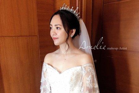 Amelie makeup-婚禮造型<青青格麗絲>
