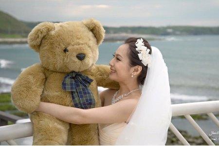海邊唯美浪漫婚紗寫真