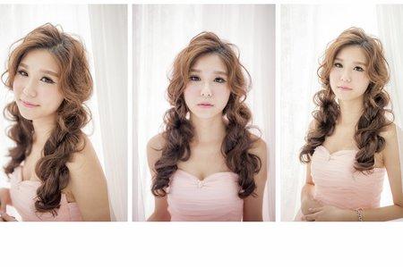 長髮髮型區