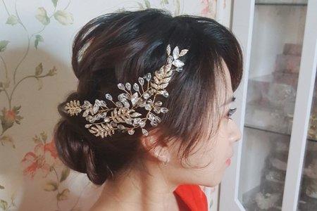 準新娘 試妝企劃 x 萳西 新娘秘書