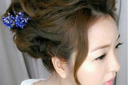 韓式浪漫白紗造型