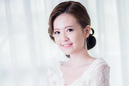 韓妝復古白紗造型