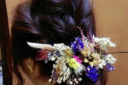 新娘訂結造型