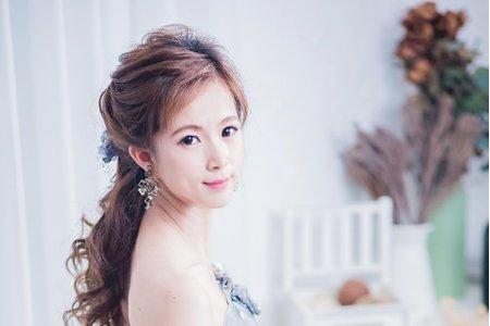 韓式浪漫髮型作品