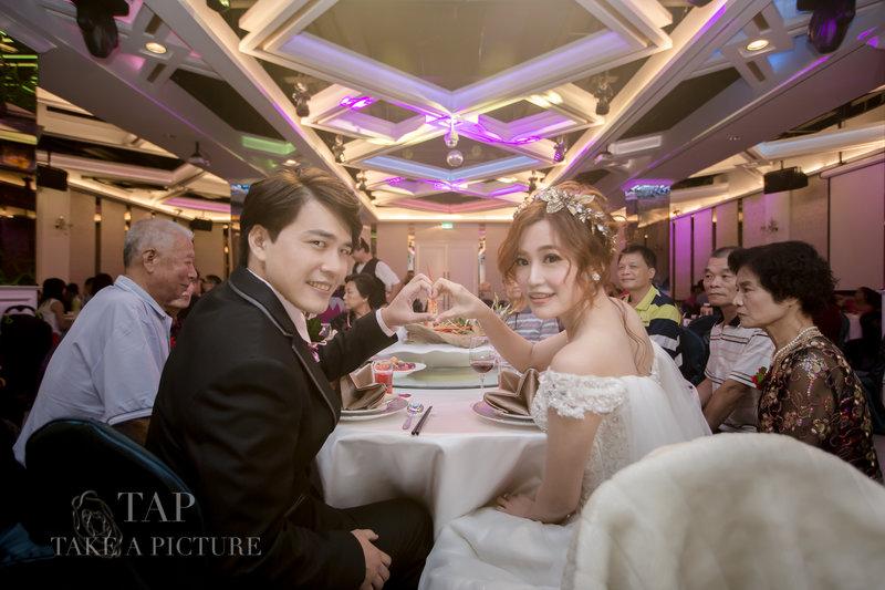 TAP迎娶+晚宴平面攝影作品