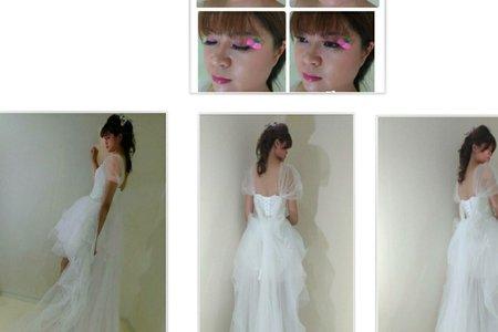 整體造型設計-新娘