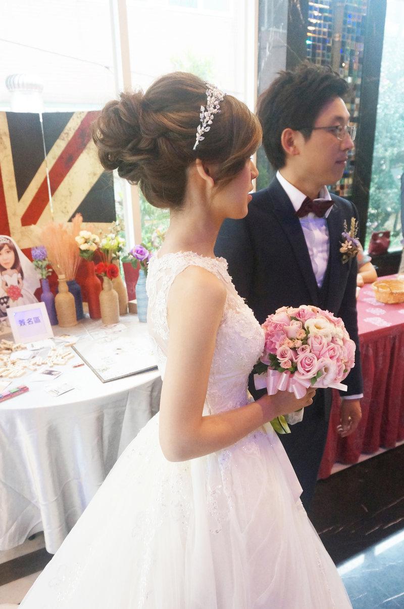 儀式+午宴新娘造型作品