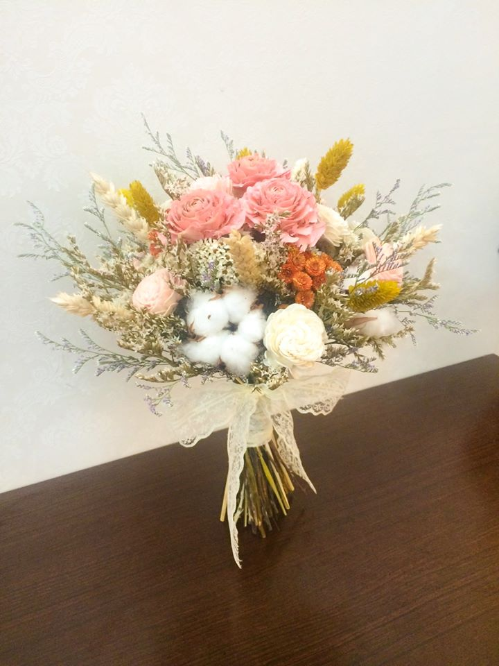 捧花、胸花、頭花、手挽花訂製作品