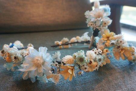 捧花、胸花、頭花、手挽花訂製