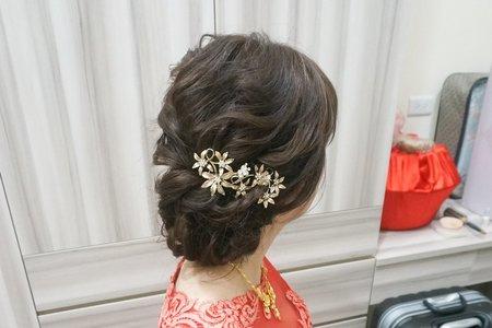 Kiwi彩妝造型 - 文定熱門盤髮造型