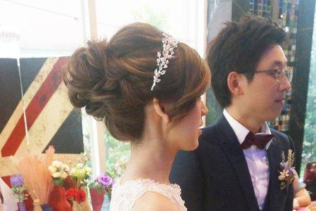 Kiwi彩妝造型 - 韓風優雅盤髮
