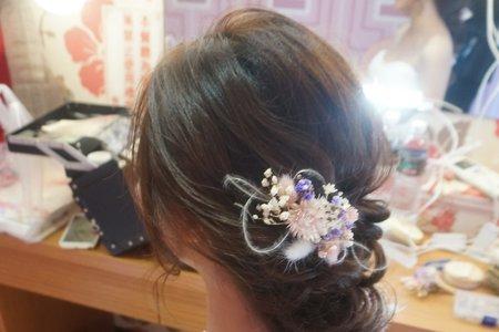 Kiwi彩妝造型 - 仙仙乾燥花造型