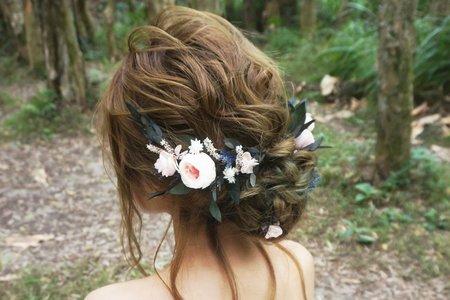 Kiwi彩妝造型 - 森林系仙氣造型