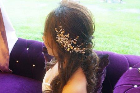 Kiwi彩妝造型 - 公主頭造型也可以這麼美