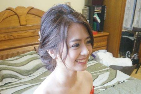 Kiwi彩妝造型 - 甜姐兒氣質盤髮