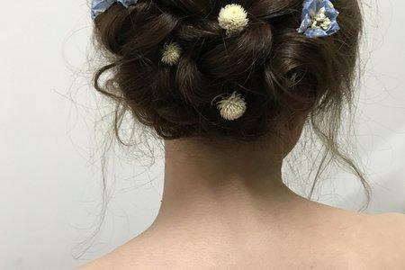 花系列二:編髮花苞