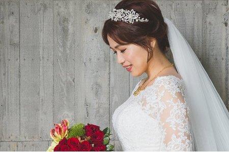 婚禮新娘造型 / Yu