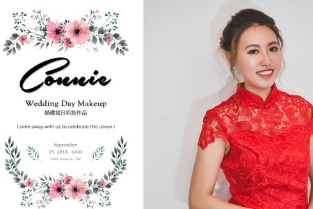 Wedding Day Makeup / Connie