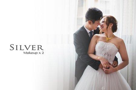 Silver 雙儀式&補請宴新娘造型方案