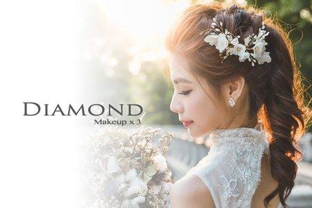 Diamond 訂結+午宴婚禮造型方案