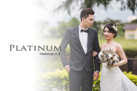 Platinum 結婚+宴客婚禮造型方案