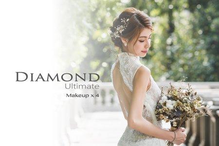 Diamond U 訂結+晚宴婚禮造型