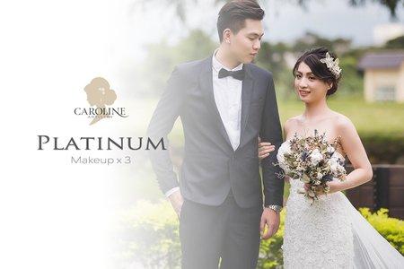 Platinum 結婚+宴客婚禮3造型