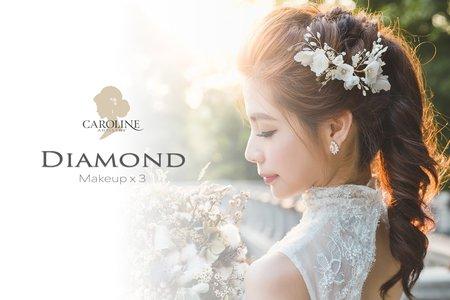 Diamond 訂結+宴客婚禮3造型