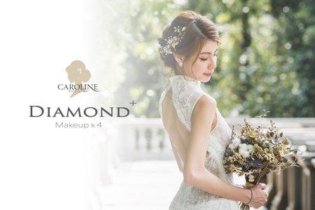 Diamond+ 訂結+宴客婚禮4造型