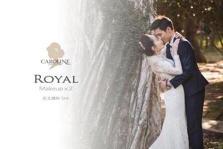 Royal 自主婚紗2造型