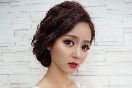 凱琪新娘秘書-典雅新娘造型
