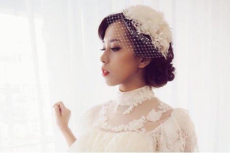 凱琪新娘秘書-復古婚紗造型