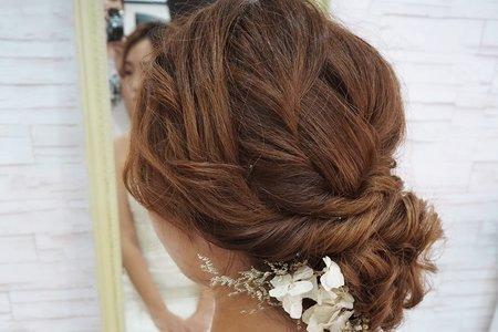 凱琪新娘秘書-編髮造型