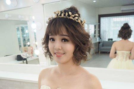 凱琪新娘秘書-短髮造型