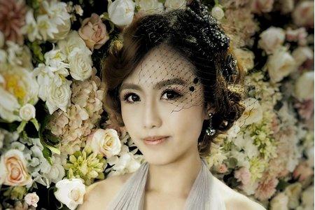 凱琪新娘秘書-棚拍輕復古新娘造型