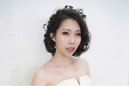 凱琪新娘秘書-短髮造型新娘