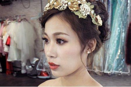 凱琪新娘秘書-丸子花苞頭