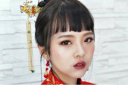 中式龍鳳褂新娘