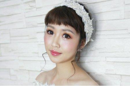 歐風新娘造型