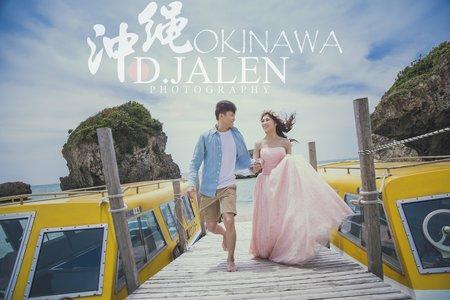 D.JALEN 沖繩婚紗 *傑&羽*