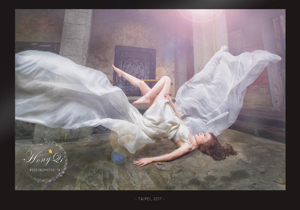 漂浮婚紗。洪齊影像團隊 - 洪齊影像團隊 - 結婚吧