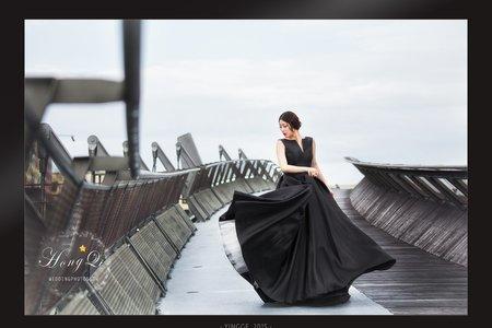 婚紗創作|黑色洗鍊