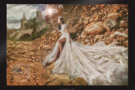 婚紗創作|落難天使