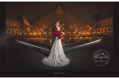 法國巴黎海外婚紗|詠之 Alina