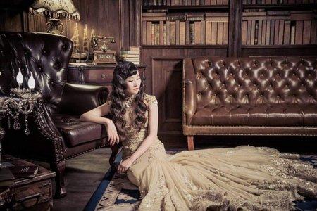 *復古婚紗造型