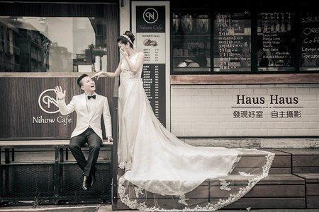 💙街頭我做主婚紗*精選*<持續增加>韓風-街頭-便服-俏皮可愛-個性-創意-外景推薦 l HAUS ♥♥♥