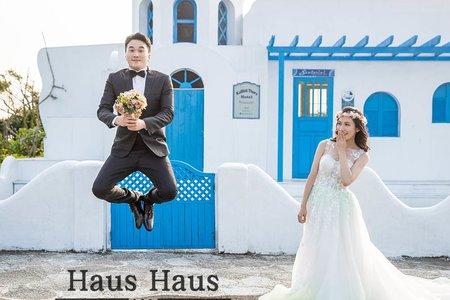 💙清新可愛婚紗*精選*<持續增加>遊樂場-東區-擎天崗-內外景推薦 l HAUS ♥♥♥