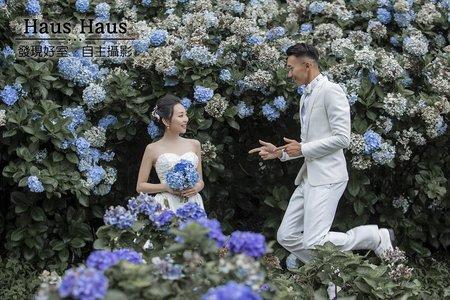 💙雨天婚紗推薦 / 韓系唯美/復古/花海/主題 ♥ 宜霖 | HAUS客照