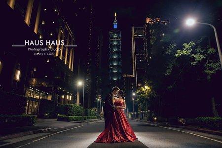 💙市區夜景婚紗*精選*持續增加 l HAUS ♥♥♥