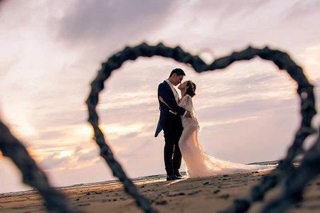 【每年精選】沙灘浪漫婚紗